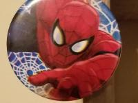 Spiderman button